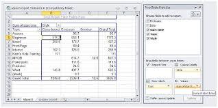 Tutorial For Excel Spreadsheets Excel Spreadsheet Training Free Online Naerbet Spreadsheet