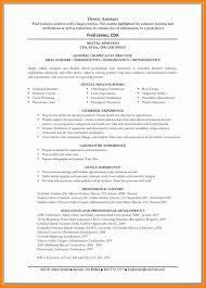 8 dental assisting resume templates letter signature