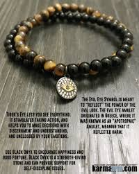 tiger eye jewelry its properties bracelet evil eye onyx tiger eye chakra healing energy mala