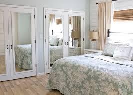 Bathroom Closet Door Beachy Bedroom Bathroom Closet Mirrored Doors Bedroom Mirrored