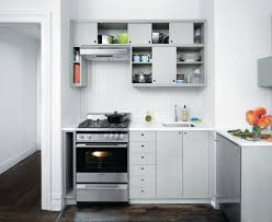 Small Kitchen Cabinet Designs White Kitchen Cabinet With Black Ceramic Floor For Small Kitchen