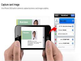 Business Card Capture App Worldcard Mobile Business Card App On Ios News Know Your Mobile