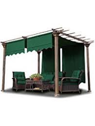 5 Ft Patio Swing With Cedar Pergola Create by Amazon Com Pergolas Canopies Gazebos U0026 Pergolas Patio Lawn