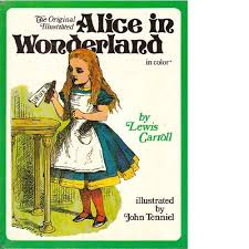 evolution alice wonderland book cover odyssey