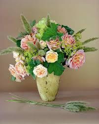 Flower Arrangement Techniques by Rose Arrangements Martha Stewart