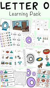 letter o worksheets and activities pack fun with mama