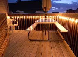 Outdoor Deck Furniture by Exterior Outdoor Deck Lighting Ideas Deck And Patio 120v Diy
