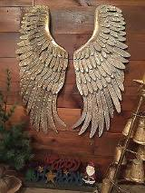 Rustic Distre Angel Wings Wall Decor For Sale Only 3 Left At 65
