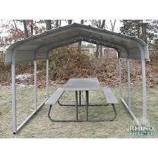 Steel Car Port Rhino Shelter Steel Carport 7 U0027wx10 U0027lx6 U0027w