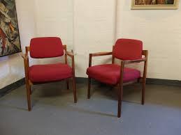 armchair design american walnut desk armchair by jens risom for jens risom design