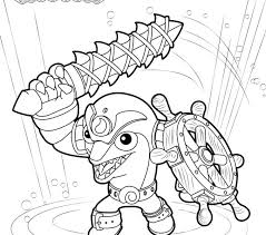 skylanders coloring pages pop fizz printable pictures s trap team