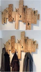 fantastic diy wooden pallet projects pallet coat racks wood