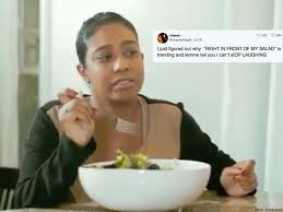 Newest Meme - right in front of my salad is the internet s newest meme pride com