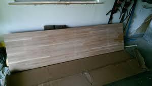 office desk album on imgur the 60 butcher block found this at a lumber liquidators