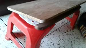 how to make a bed table diy how to make adjustable bed table youtube