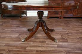 table stunning mahogany round dining table duncan phyfe double