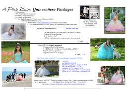 quinceanera packages a photo illusion quinceanera prices 2015 16