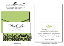 Wedding Gift Thank You Notes Card Templates Bridal Thank You Cards Trendy Michael U0027s Wedding