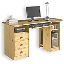 bureau en pin massif amazon fr bureau pin massif