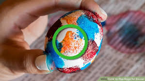 easter egg dye 4 ways to dye eggs for easter wikihow