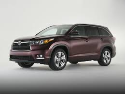 toyota 2016 2016 toyota highlander styles u0026 features highlights