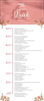wedding checklist book how to efficiently plan a wedding in less than 6 months