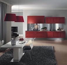 decorating red kitchen cabinets interior design architecture