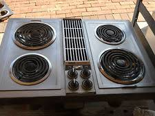 Electric Cooktop With Downdraft Exhaust Downdraft Cooktop Ebay
