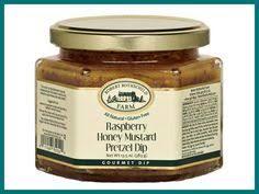 raspberry honey mustard pretzel dip razzle dazzle raspberry pretzel dip recipe sauces pretzel dip