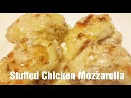 thanksgiving recipe stuffed chicken mozzarella