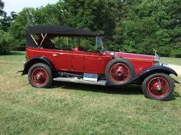 roll royce red 1925 rolls royce silver ghost sprin for sale 2029285 hemmings