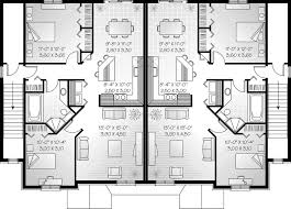 multifamily house plans 2 family house plans