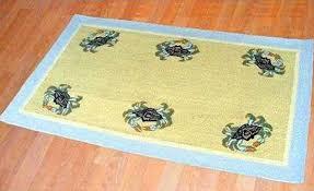 3 X 5 Area Rug by Blue Crab 3 U0027 X 5 U0027 Wool Area Rug