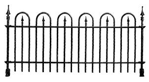 graveyard fence clipart clip art library