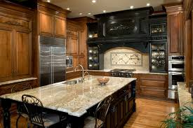 Glass Tiles For Kitchen by Granite Countertop Hanging Cabinet For Kitchen Pictures Glass