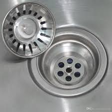 Black Kitchen Sink Strainer 2018 Stainless Steel Home Kitchen Sink Drain Mesh Stopper Basket
