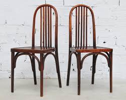 meubles art deco style chaises thonet bistrot chaises vintage thonet meuble ancien