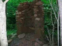 the evil dead cabin fireplace creepy cincinnati