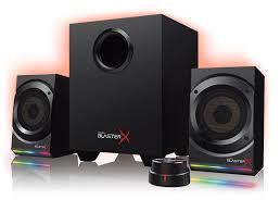 rca home theater system amazon com sound blasterx kratos s5 2 1 gaming speaker system