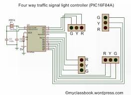 4 way traffic light using arduino four way traffic light signal using pic16f84a microcontroller