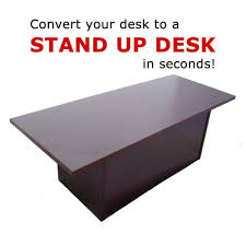 Mahogany Furniture Concept Home Concept Speedy Stand Up Portable Desk Converter Ergo Health