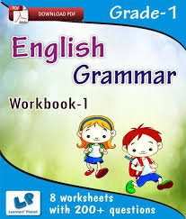 grade 1 english grammar workbook 1 e books downloadable pdf by