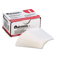 amazon com universal office products clear laminating pouches 5