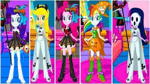 Pony Halloween Costume Girls Mlp Equestria Girls Rarity Pinkie Pie Applejack Twilight Sparkle