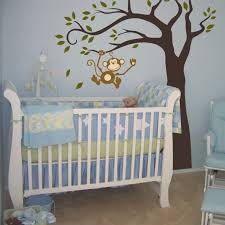 Monkey Curtains For Baby Room Gorgeous Baby Room Decor And Painted Wall Design With A Monkey Was
