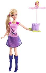 barbie flying thumbelina doll diary www dollstuff net