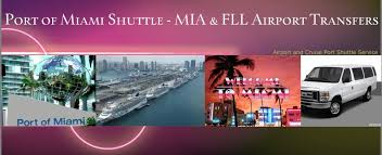 Car Rentals At Port Of Miami Port Of Miami Shuttle Miami U0026 Ft Lauderdale Airport Shuttle