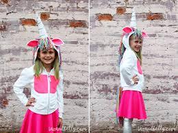 Taz Halloween Costume Diy Sew Unicorn Halloween Costume Taz Belly