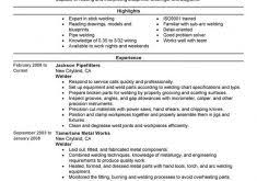 Welding Resume Examples Projects Ideas Examples Of Human Resources Resumes 4 Best Human