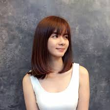 medium hairstyles with bangs for women who are overweight 25 medium length bob haircut ideas designs hairstyles design
